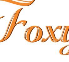 Cute Foxy Fox Wreath Sticker