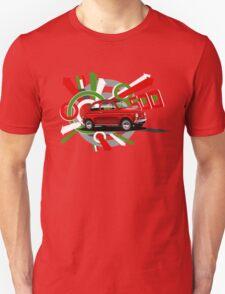 Fiat 500 T-shirt 'Explosion'  T-Shirt