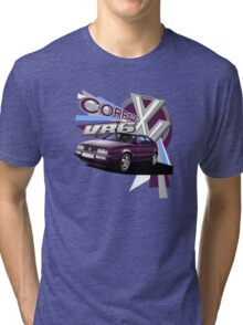 VW Corrado VR6 T-shirt 'Explosion' Tri-blend T-Shirt
