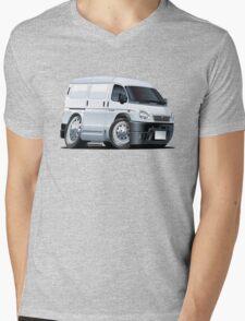 Cartoon Van Mens V-Neck T-Shirt