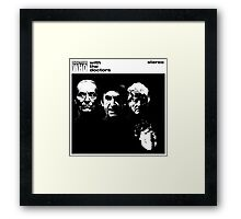 With the doctors Framed Print