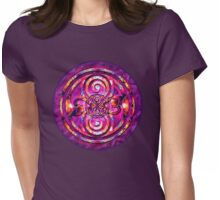 Fractals in Space Womens Fitted T-Shirt
