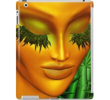 Zen Mother Nature Portrait and Bamboo iPad Case/Skin