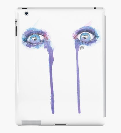 Crying colours iPad Case/Skin