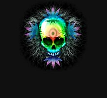 Marijuana Psychedelic Skull Unisex T-Shirt