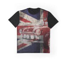 Mini car grunge design Graphic T-Shirt