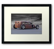 Alley Rat Rod II Framed Print