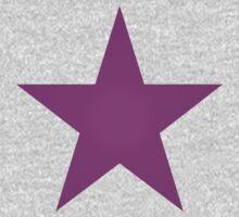 Purple Star One Piece - Long Sleeve