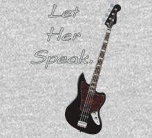 Let her speak  Kids Tee