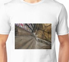 Worcester Cathedral - Looking upwards in the Transcept Unisex T-Shirt