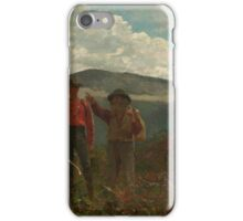 Winslow Homer, Two Guides, iPhone Case/Skin