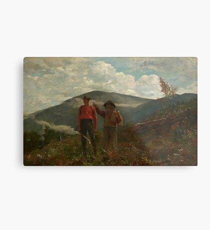 Winslow Homer, Two Guides, Metal Print