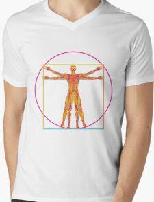 vitruvian pop Mens V-Neck T-Shirt