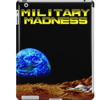 Military Madness (TurboGrafx-16 Screen Title) iPad Case/Skin