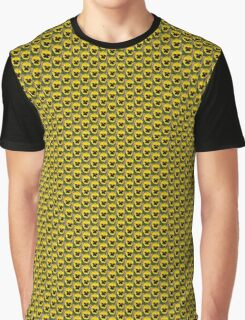 YELLOW TWO TONE PANSY Graphic T-Shirt