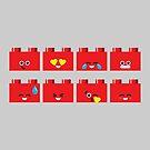 Emoji Building - Lego by SevenHundred