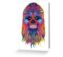 chewie Greeting Card