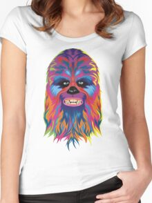 chewie Women's Fitted Scoop T-Shirt