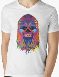 chewie Mens V-Neck T-Shirt