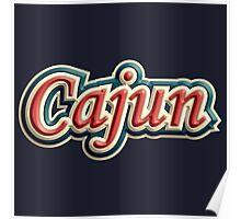 Vintage Cajun Poster