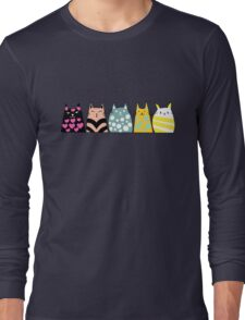 Cats Anime 6 Long Sleeve T-Shirt