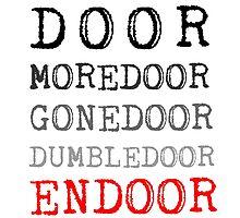 Door - Moredoor - Gonedoor - Dumbledoor - Endoor by DarkMina