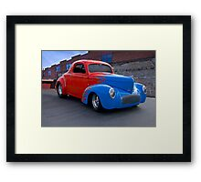 1941 Willys Coupe II Framed Print