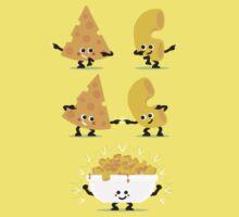 Character Fusion - Mac N Cheese Kids Tee