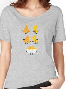 Character Fusion - Mac N Cheese Women's Relaxed Fit T-Shirt