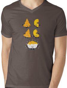 Character Fusion - Mac N Cheese Mens V-Neck T-Shirt