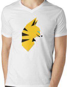 Cats Anime 4 Mens V-Neck T-Shirt