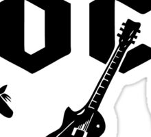 The Evolution Of Rock Sticker
