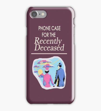 The Recently Deceased Merchandise iPhone Case/Skin