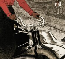 Motocycles Comiot, by Steinlen Sticker