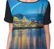Millennium Bridge - Gateshead Chiffon Top
