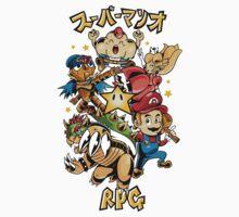 Super Mario RPG Kids Tee