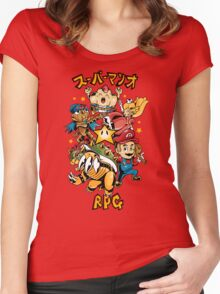 Super Mario RPG Women's Fitted Scoop T-Shirt