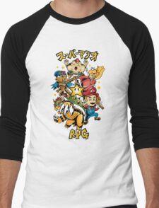 Super Mario RPG Men's Baseball ¾ T-Shirt
