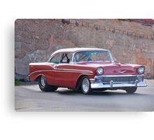 1956 Chevrolet Bel Air Hardtop Metal Print