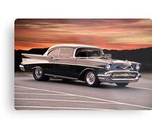 1957 Chevrolet Bel Air Hardtop Metal Print