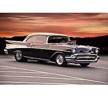 1957 Chevrolet Bel Air Hardtop Photographic Print