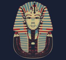 Tutankhamun 'King Tut' Hope Poster Style (Tut Tut) One Piece - Short Sleeve
