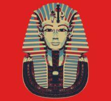 Tutankhamun 'King Tut' Hope Poster Style (Tut Tut) Kids Tee