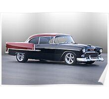 1955 Chevrolet Bel Air Hardtop Poster