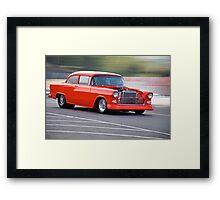1955 Chevrolet 'Pro Street' Coupe Framed Print