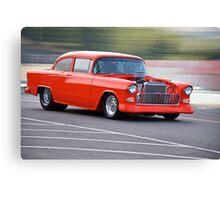 1955 Chevrolet 'Pro Street' Coupe Canvas Print