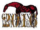 Gun Runner Kentucky Derby 2016 horse racing gifts and apparel by Ginny Luttrell