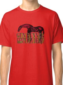 Gun Runner Kentucky Derby 2016 horse racing gifts and apparel Classic T-Shirt