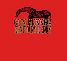 Gun Runner Kentucky Derby 2016 horse racing gifts and apparel Womens Fitted T-Shirt