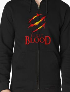 Blood of Claw Zipped Hoodie